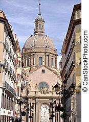 catedral,  pilar, Espanha,  zaragoza