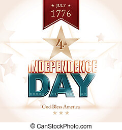 USA Indenpendence Day background - Modern Independence Day...