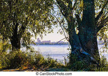 A view of the Dnieper River in Kiev