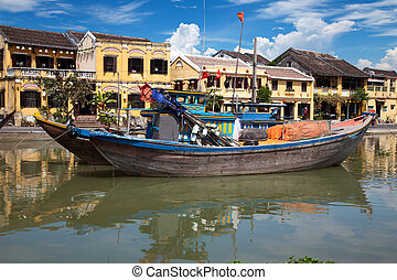 City of Hoi An in Vietnam