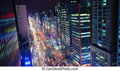 Gangnam District of Seoul, South Korea