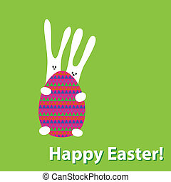 Happy Easter. The idea for the desi