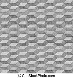Seamless geometric pattern on textured paper