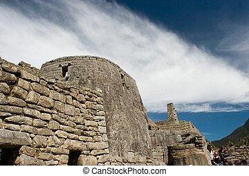 Machu Picchu Quechua: Machu Picchu, Old Peak is a...