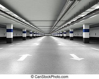 地下, 駐車
