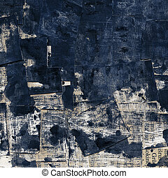 Grunge texture - Abstract grunge background. Ink texture