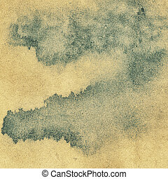 Aged paper texture with stains
