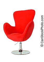 Modern red chair