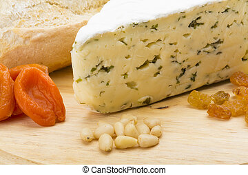 Cheese with mold