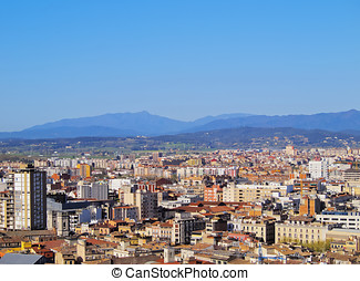 Girona, Catalonia, Spain - Girona cityscape, photo was taken...