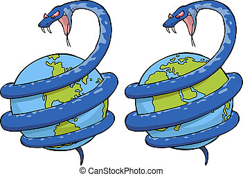 Snake in the world