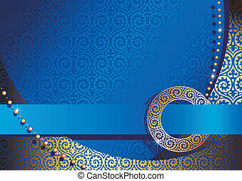 blue background - blue silk background with buckle