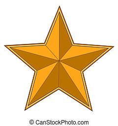 gold bright star