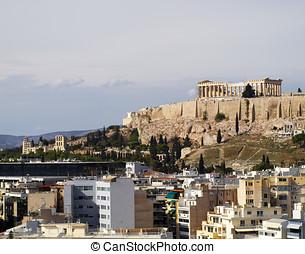 Acropolis of Athens Greece - a view Acropolis of Athens...