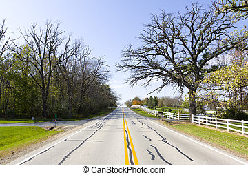 American Country Road (Fall)