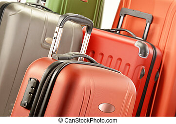 Composition with polycarbonate suitcases