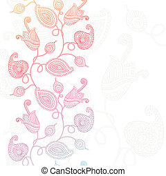 Background with flowers - Decorative floral background...