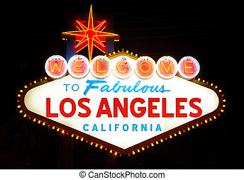Welcome to Los Angeles, California(USA)