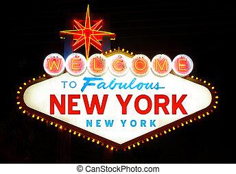 Welcome to New York USA