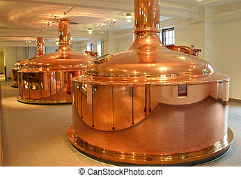 In the Brewery - In the Carlsberg and Tuborg Brewery in...