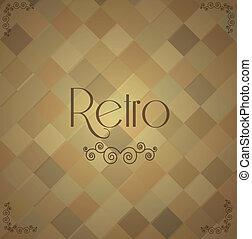 Retro background