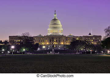 Washington DC capitol - Beautiful capitol building in...