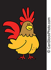 chicken,character,young,comic strip - chicken,character,...