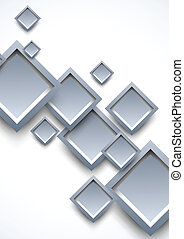 Background with gray squares