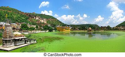Bundi, India: Panoramic view of this wonderful ancient...