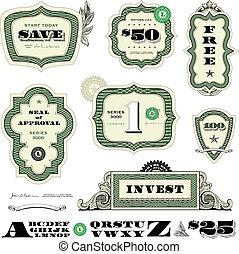 Vector Financial Frame Set