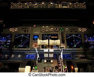 vuelo, cubierta