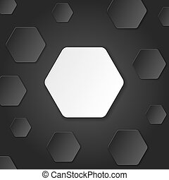Neutral Paper Cut Background. Vector Illustration