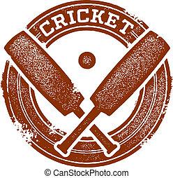 Cricket Sport Stamp