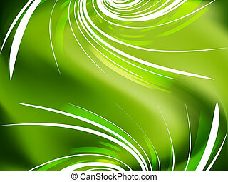 Abstract green background - Beautiful abstract green...