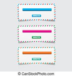 Web design template elements