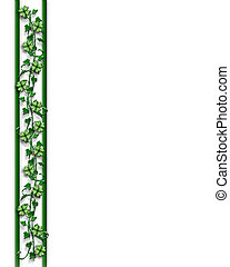 St Pattys Day Border - 3D Illustration for St Patrick\\\'s...