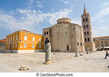Church of st Donat, a monumental building from the 9th...