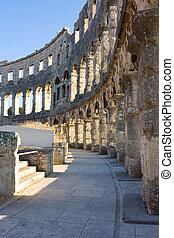 Amphitheater of Pula, Croatia