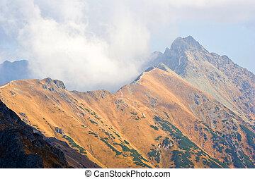 Tatra Mountains in autumn, Poland