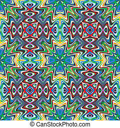 Mexican Textile Design - Modern Mexican fabric design in...