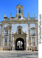 Arc da Vila, Faro, Algarve, Portugal