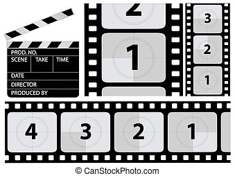 film countdown - vector film countdown