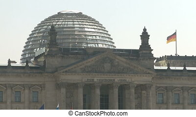 Glass Dome Berlin Reichstag - Glass Dome of the German...