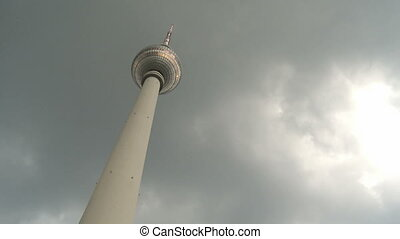 Television Tower Berlin - Television Tower Alex in Berlin,...