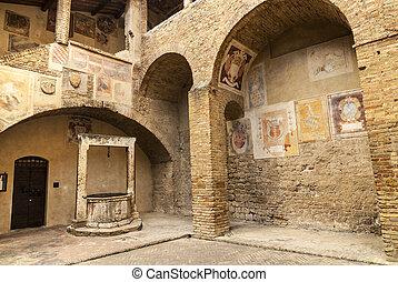 San Gimignano (Tuscany) - San Gimignano (Siena, Tuscany,...