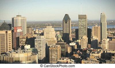 Montreal Skyline Timelapse