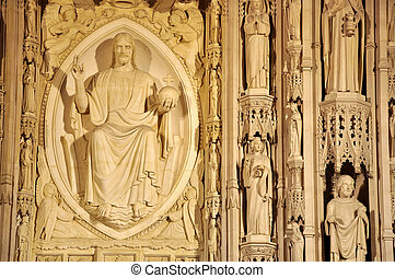 Washington National Cathedral - The East End of the...