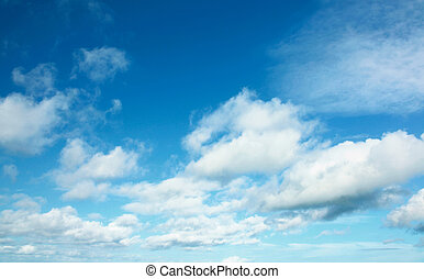 clear sky with white cloud