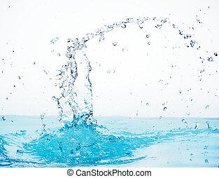 water splash - close-up of water splash