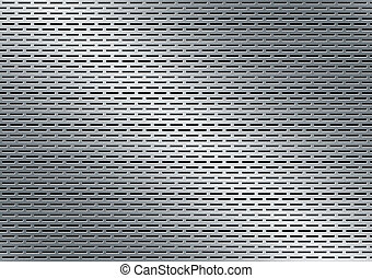 perforated metal background - perforated aluminum texture...
